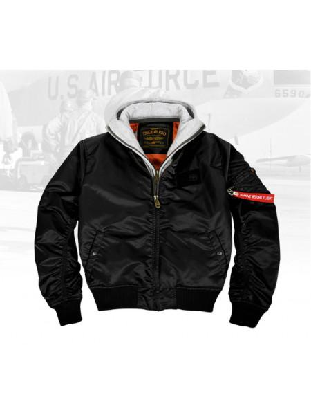 Куртка 7.26 MA-1 Черный