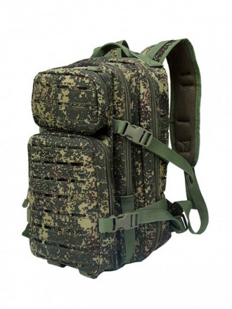 Рюкзак Laser Тактический 25л Цифра Зеленая