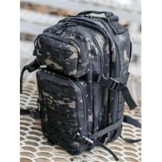 Рюкзак Laser тактический 25л Черный Мультикам