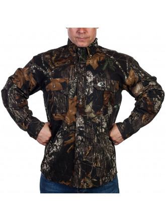 Рубашка Mossy Oak Темная