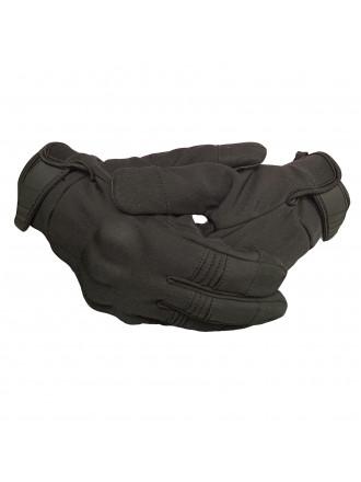 Перчатки Тактические с Костяшками Черные