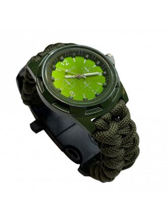 Часы Тактические EMAK 577 Олива Циферблат Зеленый