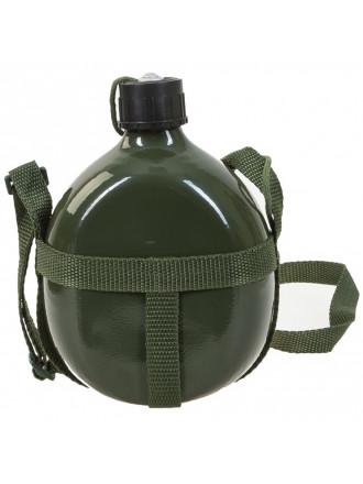 Фляжка Армейская Алюминиевая Зеленая 1л