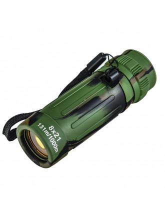Монокуляр 8х21 FMC Zoom Зеленый Камо
