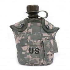 Фляга армейская US 2 в 1 Acu digital