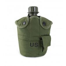 Фляга армейская US 2 в 1 Олива