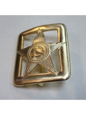 Пряжка генеральская Звезда СА с просечками
