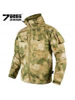 Куртка 7.26 Софтшелл Мох Зеленый