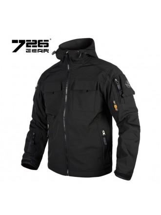 Куртка 7.26 Софтшелл Черный