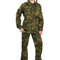 Костюм детский военно-полевой флора