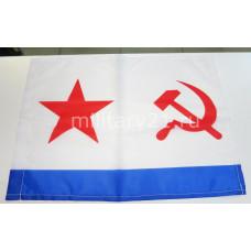 Флаг ВМФ СССР на авто