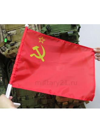 Флаг СССР на Авто 30x40 см