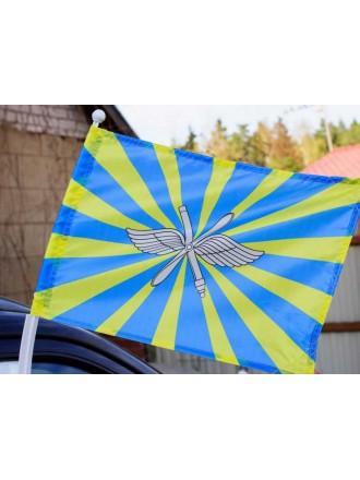 Флаг ВВС на Авто 30x40 см
