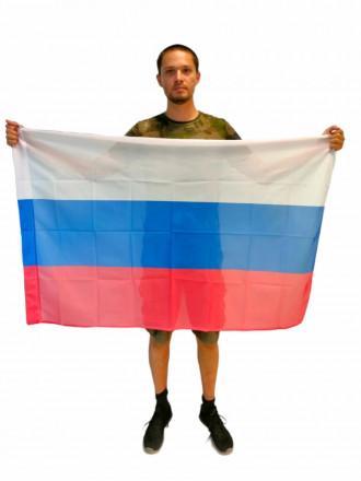 Флаг России Триколор Флажная Сетка 90x135см