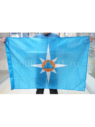 Флаг МЧС 90х135 см