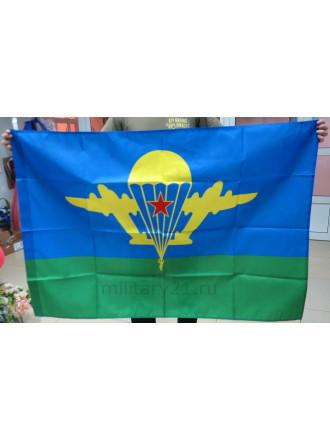 Флаг ВДВ СССР Эмблема с Желтым Куполом 90х135 см
