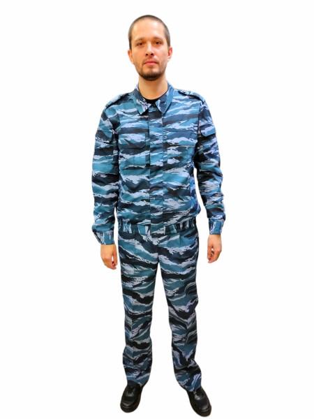 костюм охраны синий