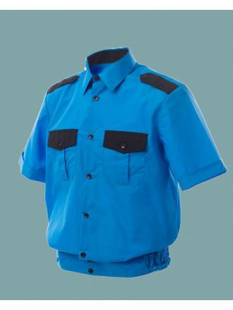 Рубашка Охранника на Резинке Короткий Рукав