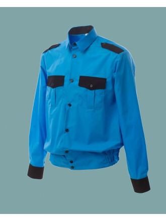 Рубашка Охранника с Длинным Рукавом на Резинке