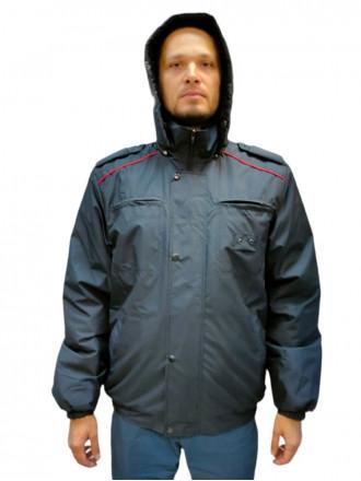 Куртка Полиции Демисезонная Укороченная Рип-стоп