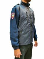 Джемпер Полиции Флисовая Нового Образца с Шевронами
