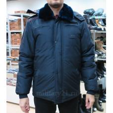 Куртка бушлат Полиции зимний