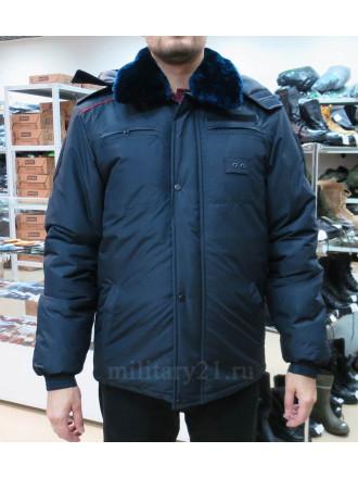 Куртка Бушлат Полиции Зимний Удлиненный Мембрана