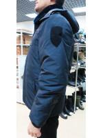 Куртка Бушлат Полиции Зимний Удлиненный
