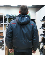 Куртка Зимняя Полиции Укороченная Твил