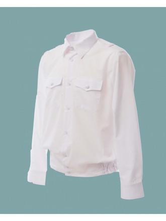 Рубашка Полиции Белая Женская Длинный Рукав