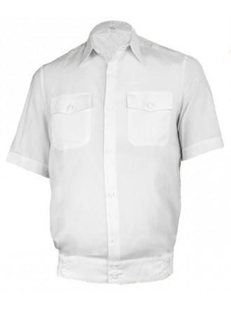 Рубашка МВД Полиции с коротким рукавом белая мужская