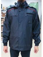 Куртка Ветровка Полиции Удлиненная Мембрана
