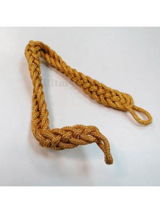 Филигрань Плетеная Одинарным Шнуром Металлизированная Золотая 1.5 см Ширина