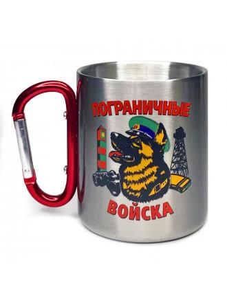 Кружка с Карабином Пограничные Войска Овчарка в Фуражке