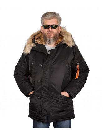 Куртка Аляска Apolloget TIGHT HUSKY II Black
