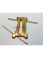 Буква на Погоны Металл Д Золото