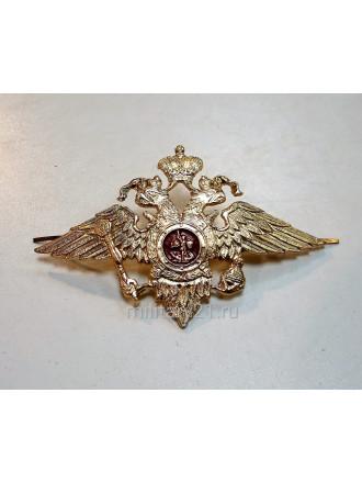 Эмблема на Тулью МВД