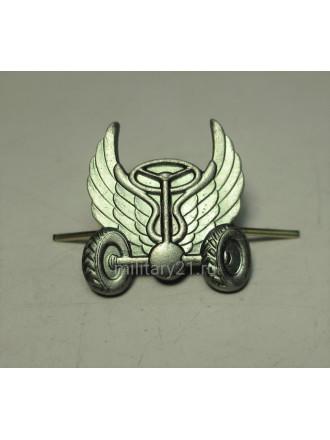 Эмблема петличная Автомобильные войска нового образца защитная