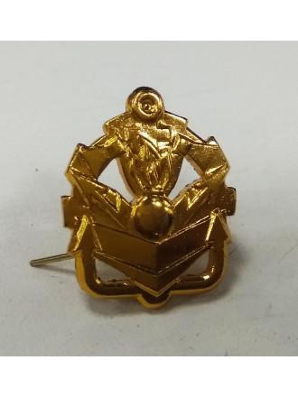 Эмблема петличная Инженерные войска золото