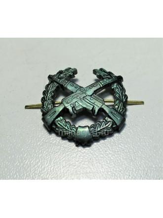 Эмблема Петличная Мотострелковые Войска Защитная