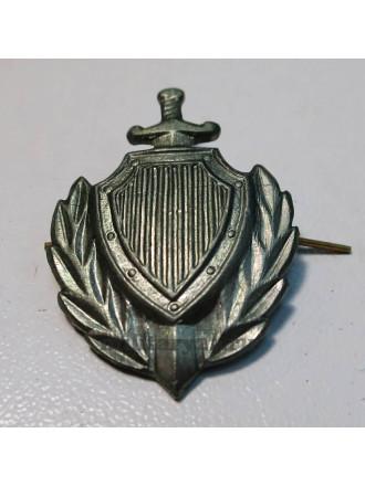 Эмблема петличная МВД защитного цвета