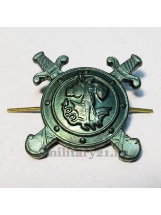 Эмблема Петличная Полиции Защитного Цвета