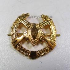 Эмблема петличная Погранвойска старого образца золотая