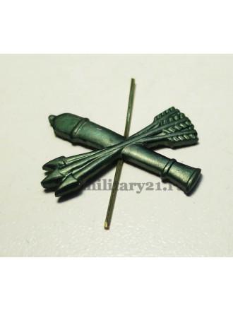 Эмблема петличная войска ПВО защитная