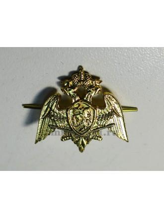 Эмблема Петличная Росгвардия Золотого Цвета