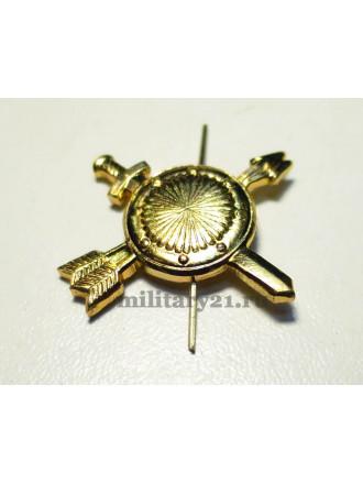 Эмблема Петличная РВСН Нового Образца Золотая