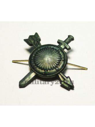 Эмблема Петличная РВСН Нового Образца Защитная