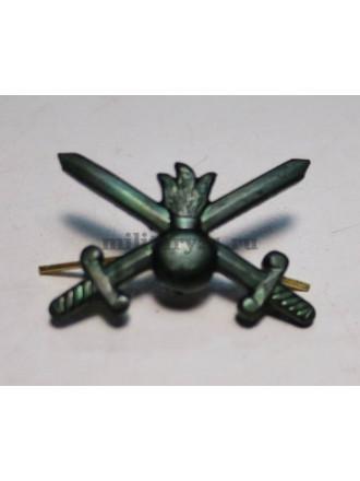 Эмблема Петличная Сухопутные Войска Нового Образца Защитная