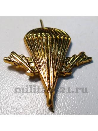 Эмблема петличная ВДВ золото