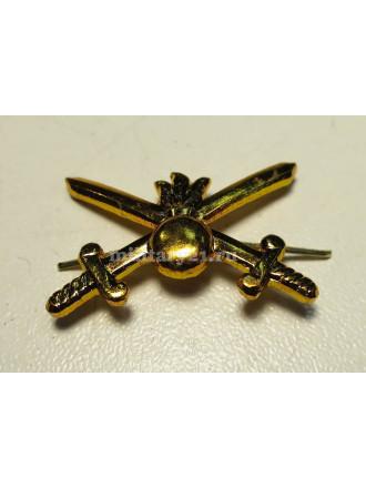 Эмблема Петличная Сухопутные Войска Нового Образца Золотая